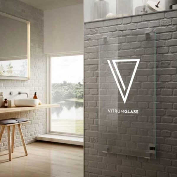 Radiateur en verre chauffant personnalisable, VitrumGlass