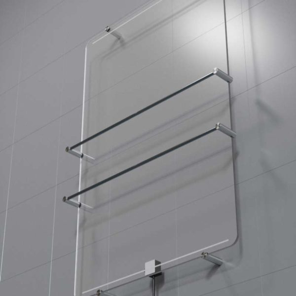 Radiateur en verre, Dry Side, VitrumGlass