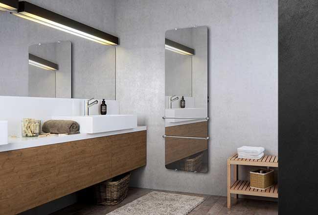 Miroir chauffant standard ou sur-mesure, VitrumGlass