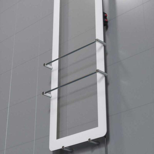 Radiateur double avec cadre, VitrumGlass
