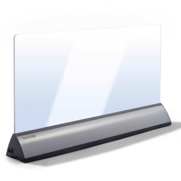 Radiateur LED portable, Floor LED, VitrumGlass