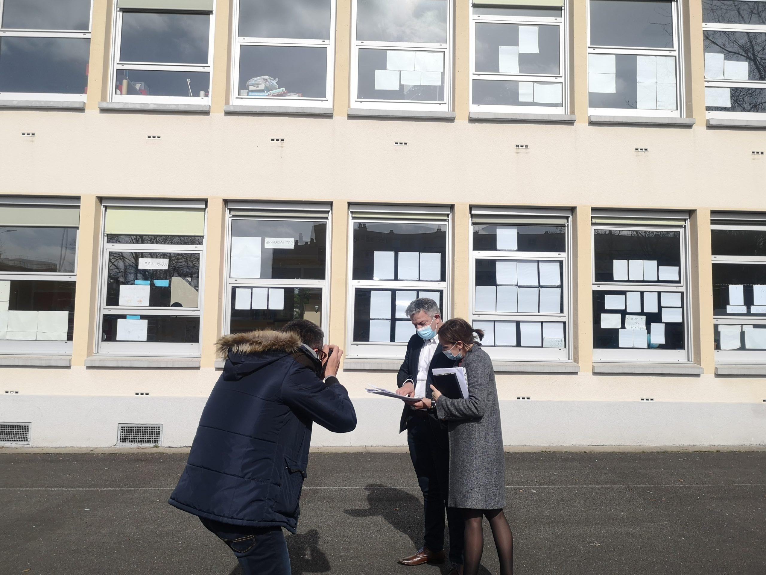 Une première mondiale dans une école Mancelle